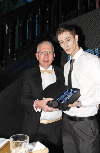 Connor winning awards