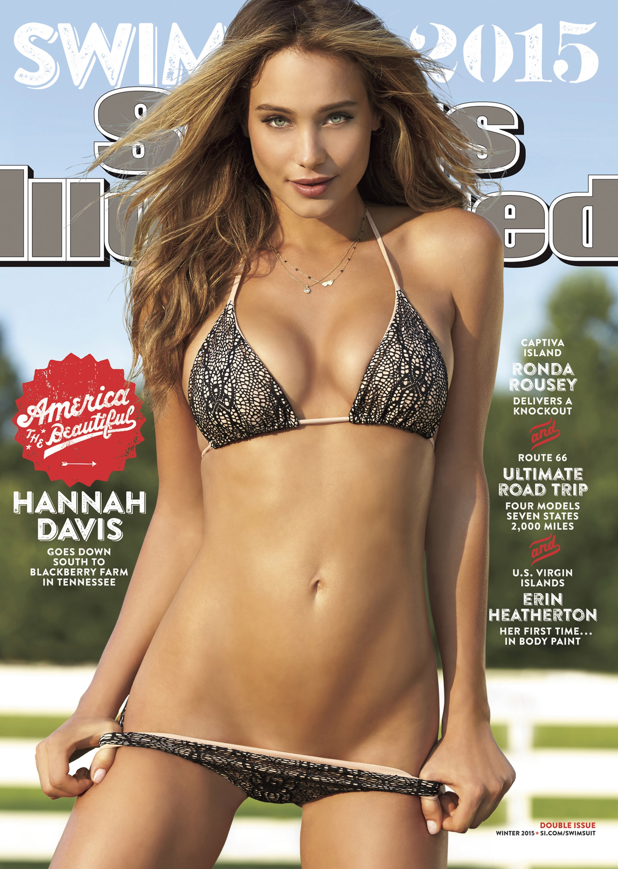 Sports Illustrated Hanna Davis