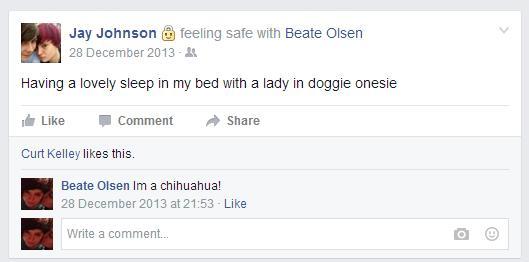 Doggie onesie